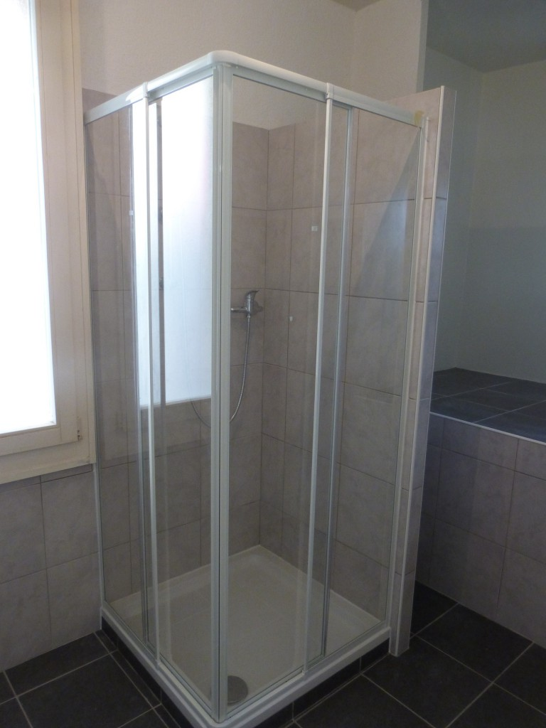 Installation et pose douche