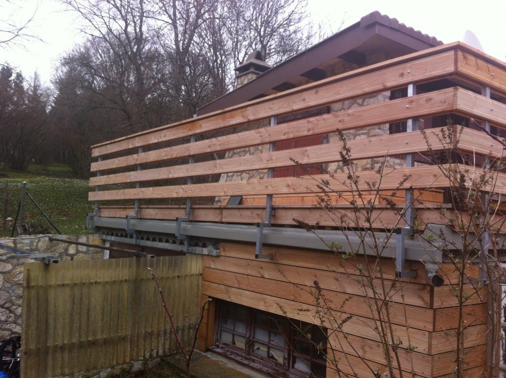 Barrière bois et métal