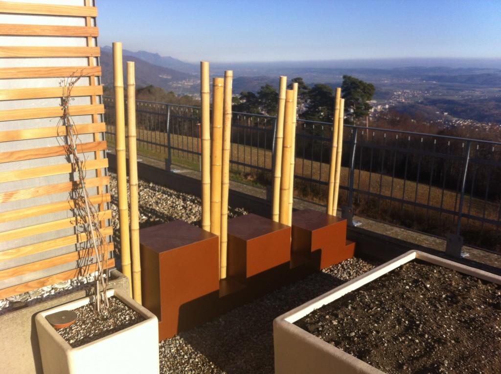 Séparation pour terrasse