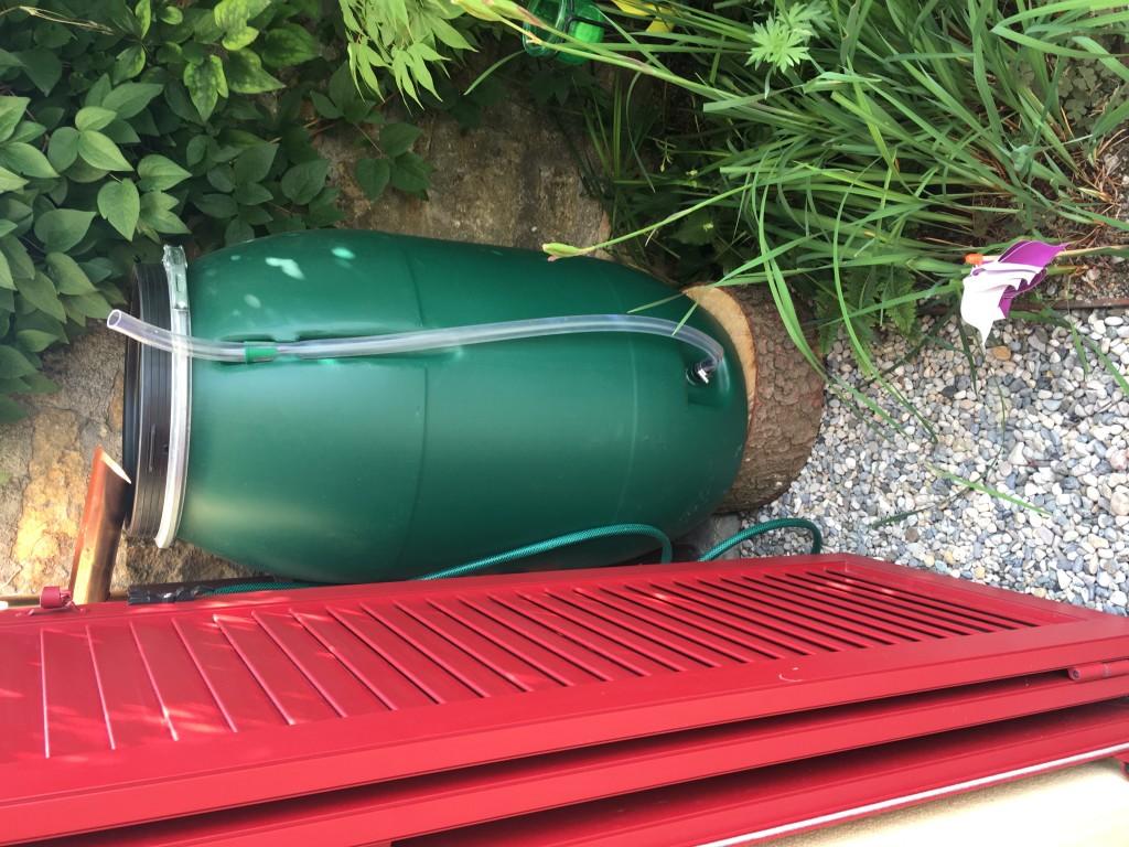 réservoir pour eau de pluie